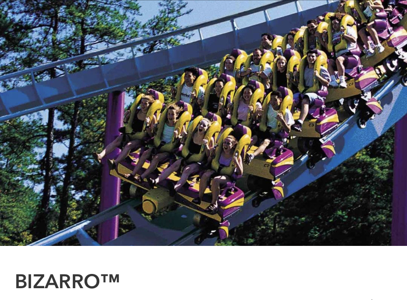 Six Flags Great Adventure, Bizzaro