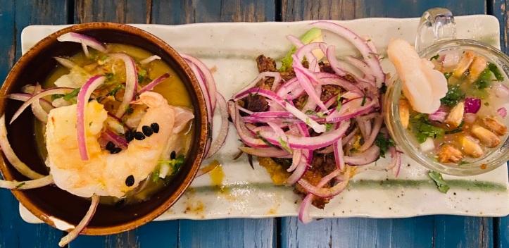 Pisco y Nazca, Peruvian Food, Ceviche
