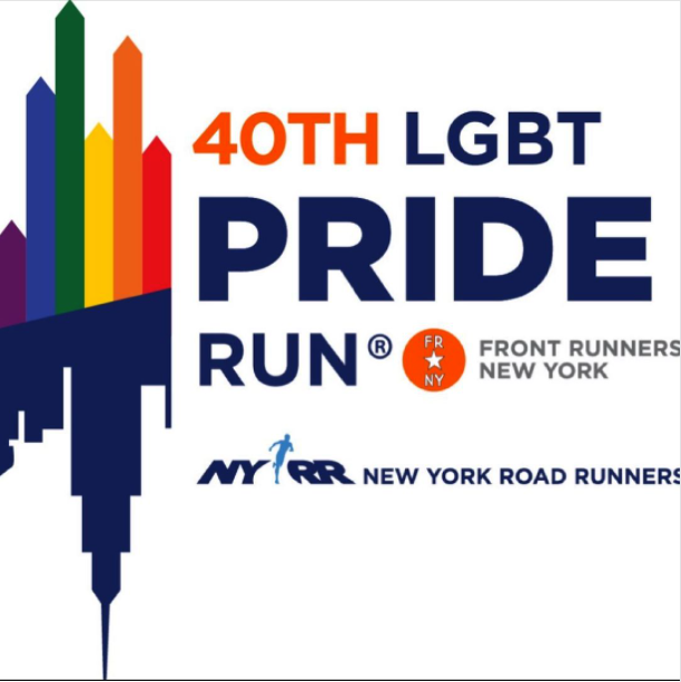 LGBT Pride run sponsored by New York Road Runners and Front Runners NY. #frontrunnersny #lgbt